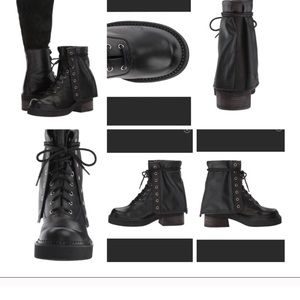 See By Chloe Katerina Combat Boots Leather